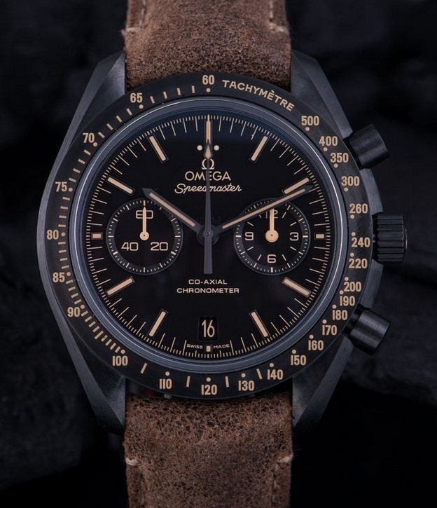 Replique Montre Omega Speedmaster Dark Side of the Moon Vintage Black Revue