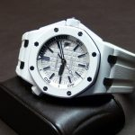 Replique Montre Audemars Piguet Royal Oak Offshore Diver Blanc Céramique Pas Cher