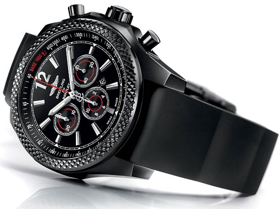 Replique Montre Breitling Bentley Barnato 42 Midnight Carbon