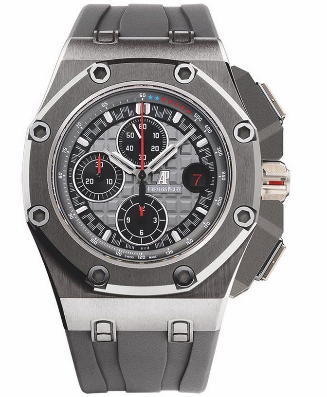 Replique Montre Audemars Piguet Royal Oak Offshore Michael Schumacher Titane