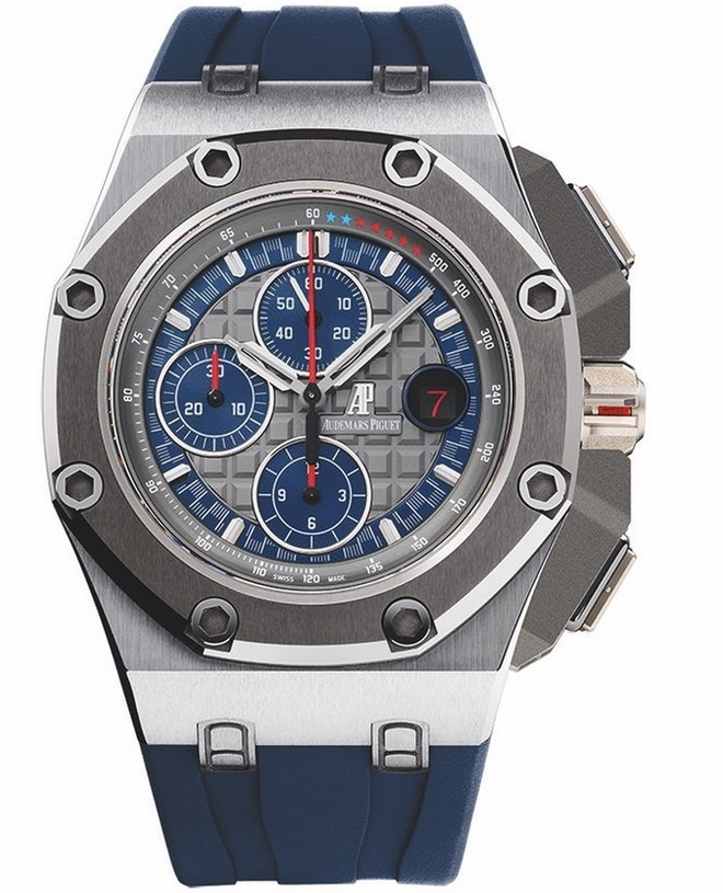 Replique Montre Audemars Piguet Royal Oak Offshore Michael Schumacher Platine