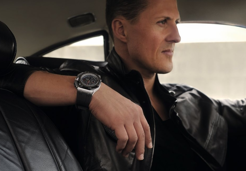 Replique Montre Homme Audemars Piguet Royal Oak Offshore Michael Schumacher