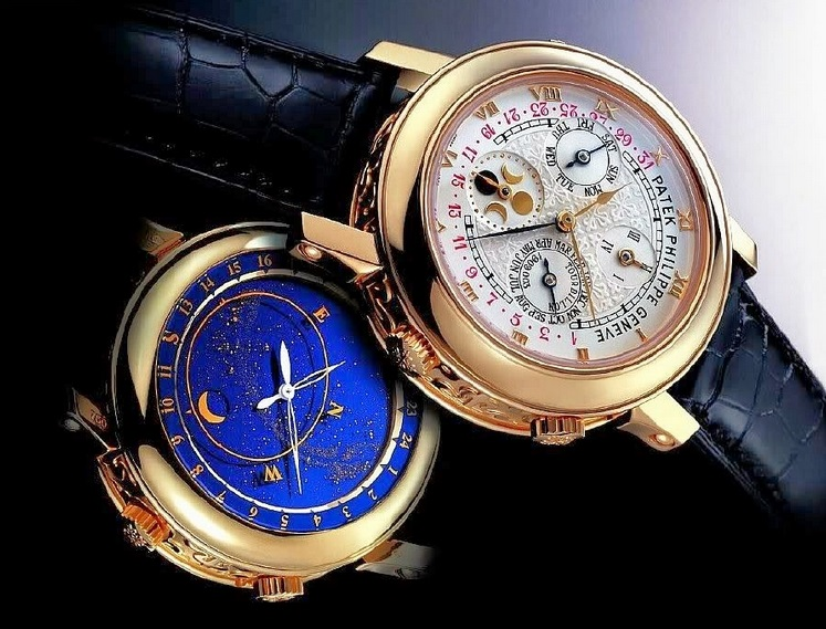 Replique Montre Patek Philippe Sky Moon Tourbillon 5002J