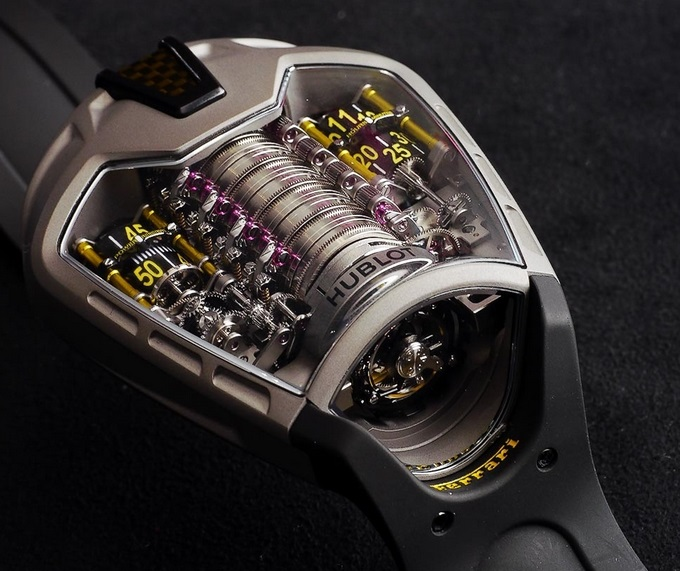 Replique Hublot MP-05 LaFerrari 905.NX.0001.RX