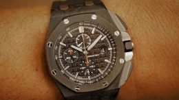 Replique Montre Audemars Piguet Royal Oak Offshore Chronographe 44mm Forged Carbon Pas Cher