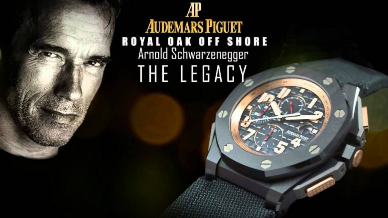 Replique Montre Audemars Piguet Royal Oak Offshore Arnold Schwarzenegger Le Chronographe Legacy