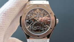 Replique Montre Hublot Classic Fusion Skeleton Tourbillon Pas Cher