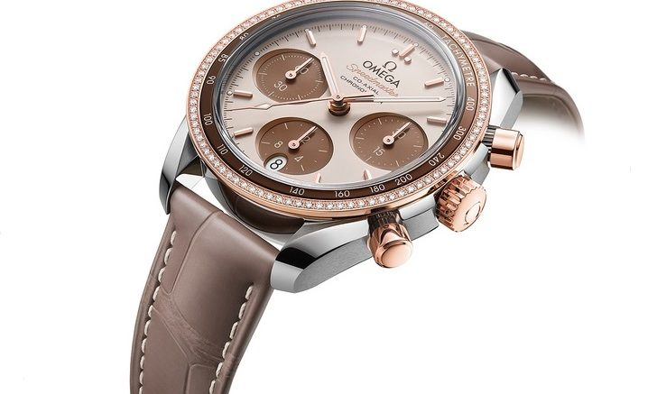 Replique Montre Omega Speedmaster 38mm Cappuccino