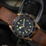 Replique Montre Tudor Heritage Black Bay Bronze Bleu