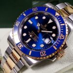 Deux Tons Replique Montre Rolex Submariner 116613LB