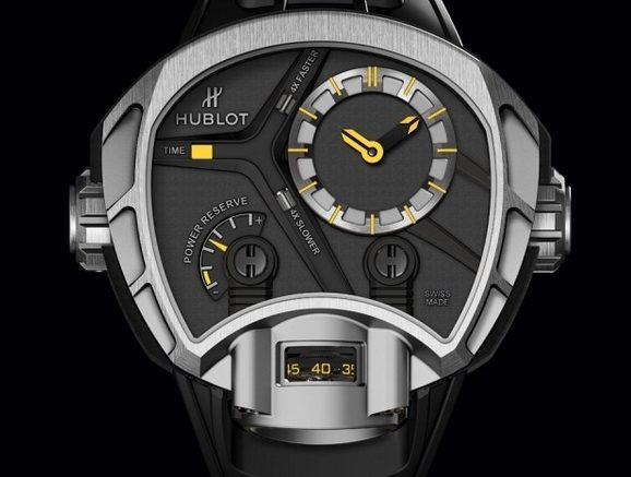 Replique Montre Hublot MP-02 Key of Time Pas Cher