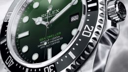Replique Montre 2017 Rolex Sea-Dweller 50th Anniversaire Dégradé Vert