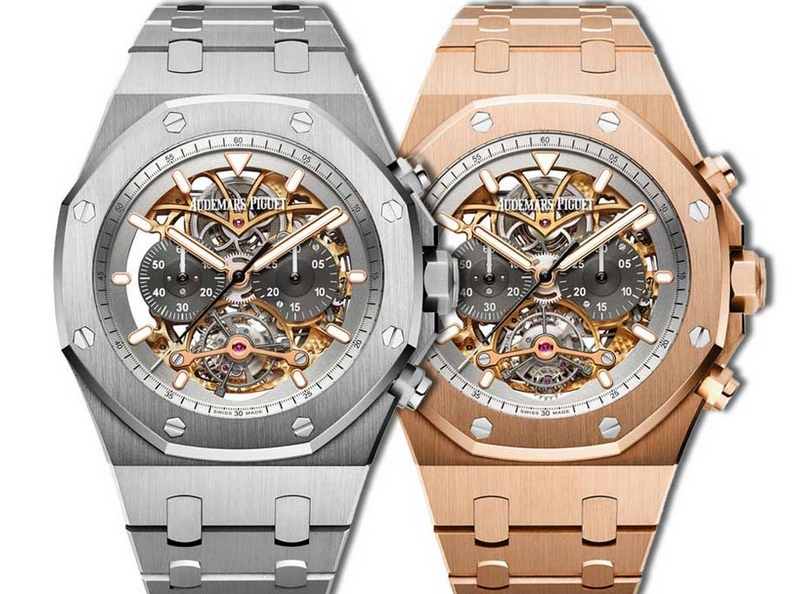 Replique Montre Audemars Piguet Royal Oak Tourbillon Chronographe Openworked