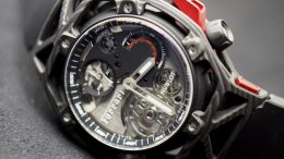 Replique Montre Hublot Techframe Ferrari Tourbillon Chronographe Pas Cher