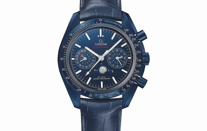 Replique Montre Omega Speedmaster Blue Side of the Moon