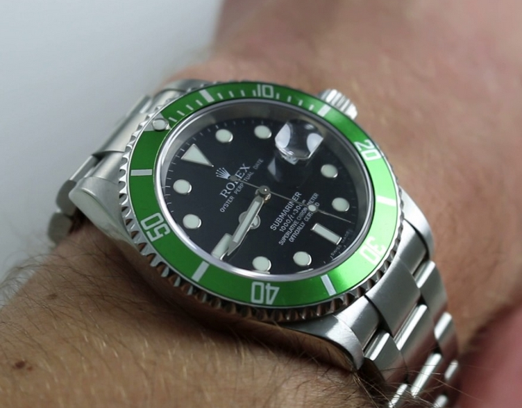 Replique Montre Rolex Submariner 50th Anniversary 16610LV