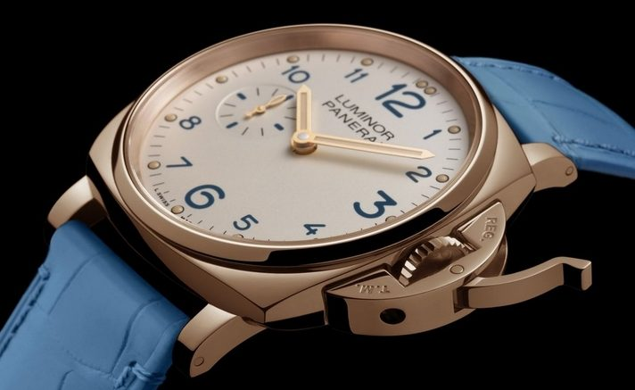 Replique Montre Panerai Luminor Due 3 Jours Oro Rosso PAM00741