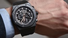Replique Montre Audemars Piguet Royal Oak Tourbillon Chronographe Openworked 26343CE