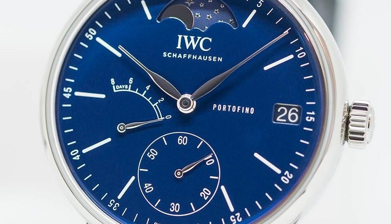 Replique Montre IWC Portofino Moon Phase Hand Wound 150 Years