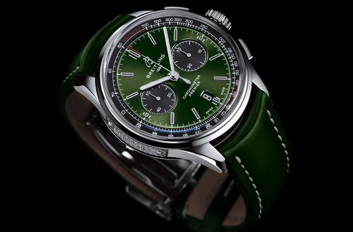 Replique Breitling Premier B01 Chronographe 42 Bentley British Racing Vert