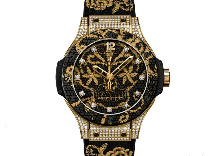 Replique Montre Hublot Big Bang Broderie