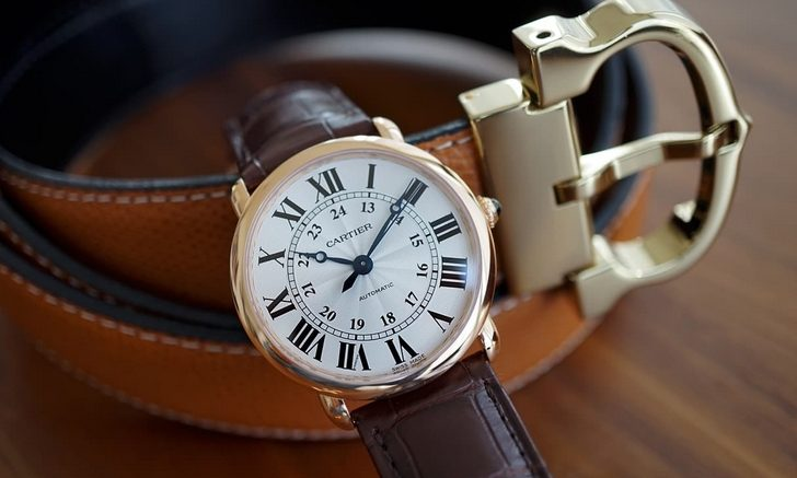 Replique Montre Cartier Ronde Louis Cartier