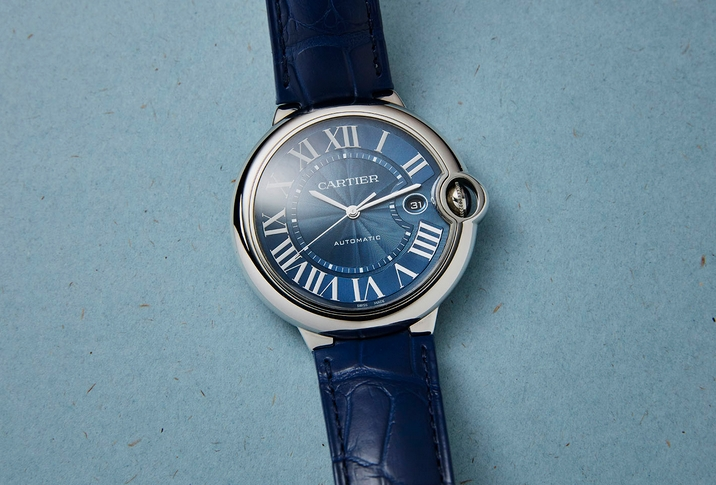 Replique Montre Cartier Ballon Bleu 42mm