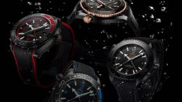 Replique Montre Omega Seamaster Planet Ocean Deep Black