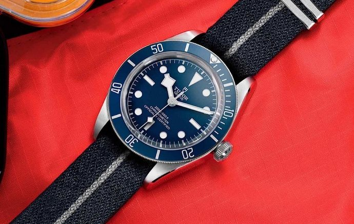 Replique Montre Tudor Black Bay 58 Navy Blue