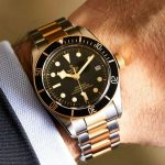 Replique Montre Tudor Heritage Black Bay Bicolore